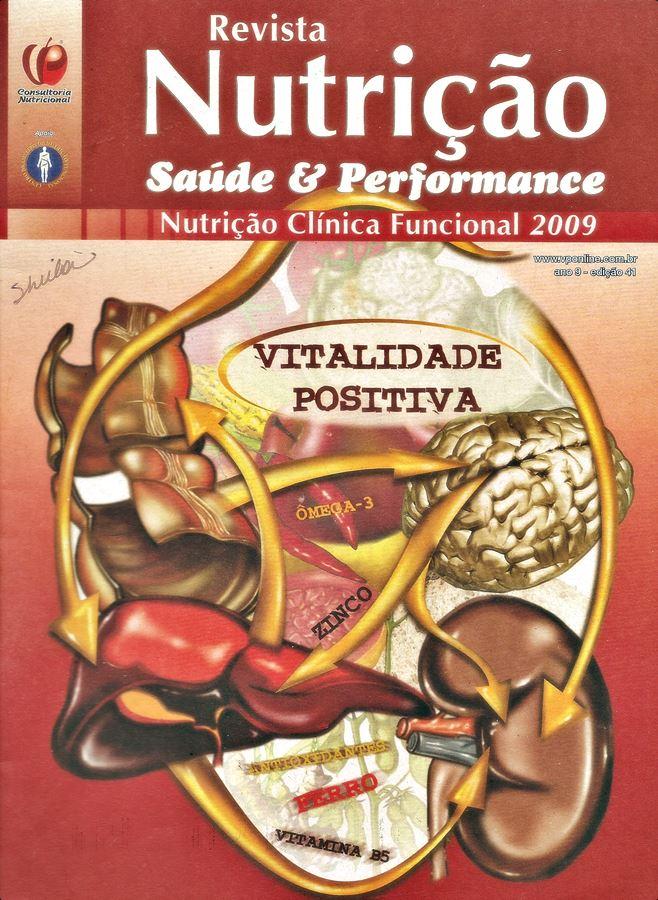 revista nutrição saúde e performance